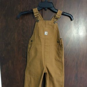Like new Carhartt overalls 3T